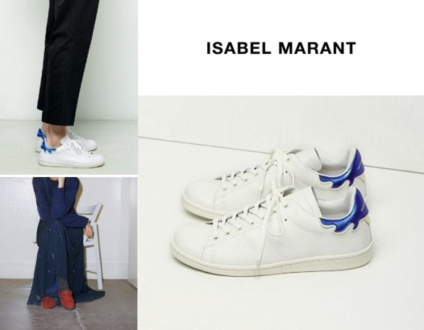 ISABEL MARAN* bart leather trainers[2color]